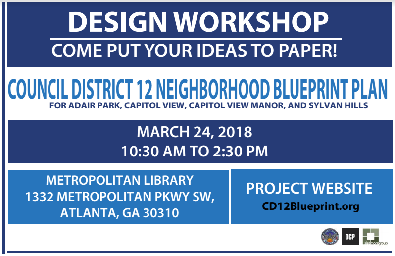 Council district 12 blueprint plan community engagement march 24 the district 12 neighborhood blueprint plan represents the collective vision goals and policies of the neighborhoods of adair park sylvan hills malvernweather Image collections